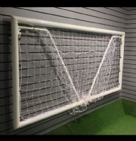 FOLDING GOAL - LOCKING ALUMINIUM - 8 x 4